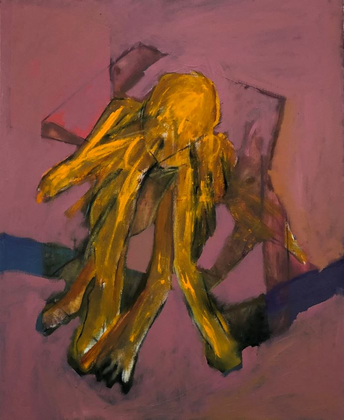 Confinement I, 2021 Oil on canvas, 81 x 100 cm